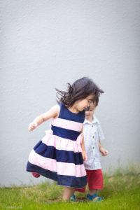Outdoor children photographer in Singapore