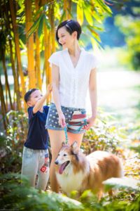 Singapore outdoor pet photographer