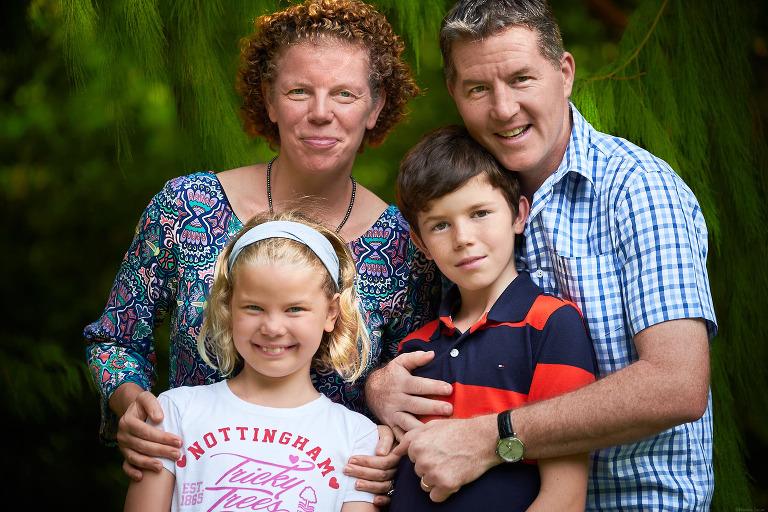Family photography at Singapore Botanic Gardens.