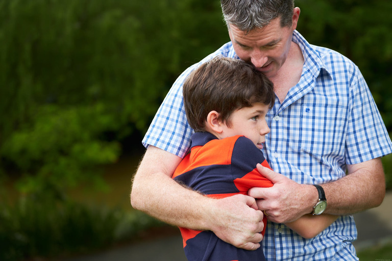 Father and Son photography at Singapore Botanic Gardens