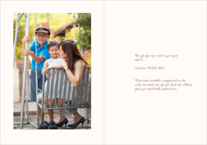 Family photographer in Singapore