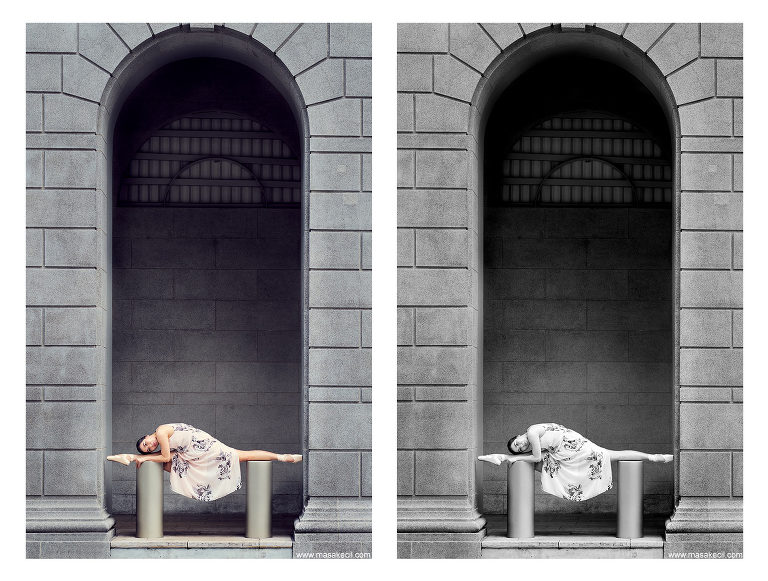 Singapore outdoor ballet photography by Hendra Lauw