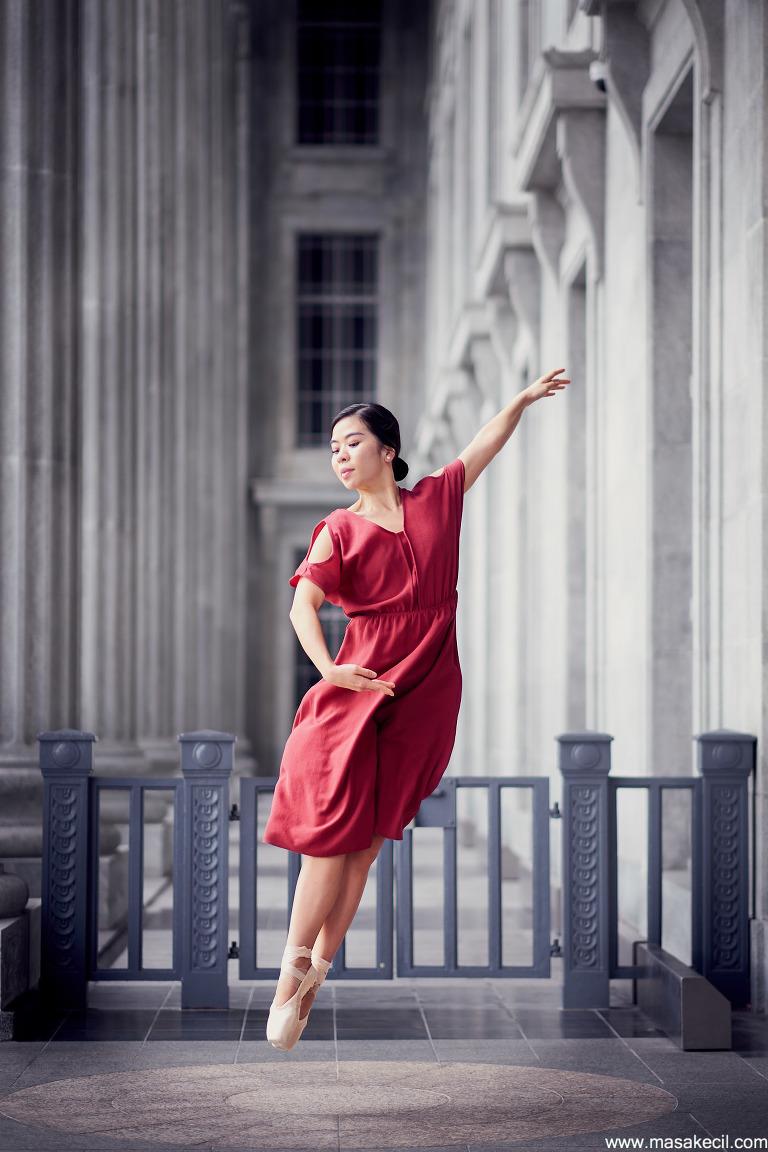 Singapore ballet photographer