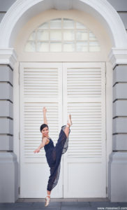 Singapore outdoor dance photography