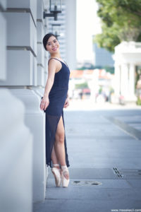 Outdoor dance photography in Singapore
