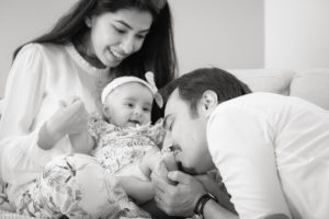 Singapore black and white family photographer