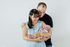 Newborn and family photography at home